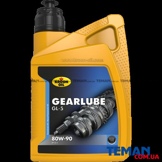 Минеральное смазочное масло GEARLUBE GL-5 80W-90, 1л