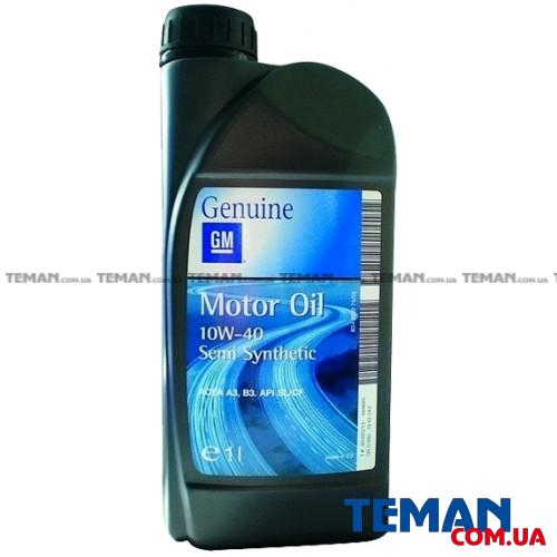 =19 42 188 Мастило моторне півсинтетика GM Semi Synthetic 10W40 1L