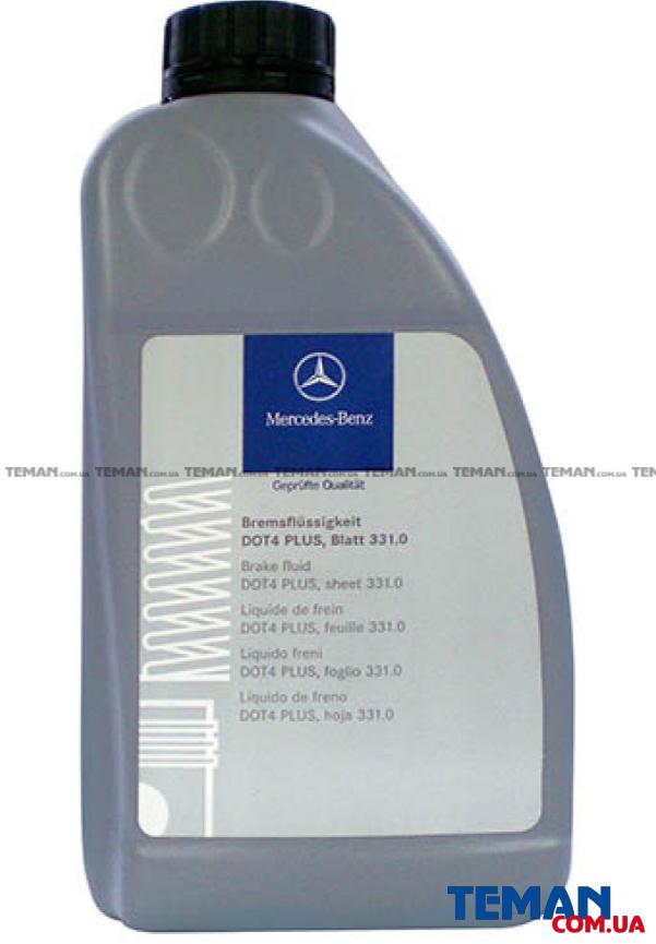 Купить Жидкость тормозная  DOT 4   1000 mlMERCEDES BENZ 000989080713