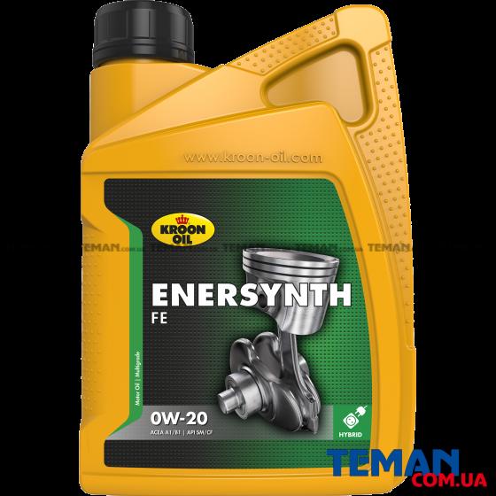 Дизельное моторное масло ENERSYNTH FE 0W-20, 1л