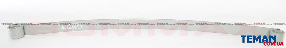 Лист рессоры задней       Ford transit 91-   T12  коренной (с вт.)     ( h= 10mm,  60*693*677 )