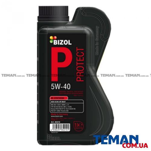 Синтетическое моторное масло - BIZOL Protect 5W-40 1л