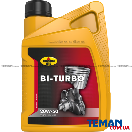 Купить BI-TURBO 20W-50Kroon-Oil  00221