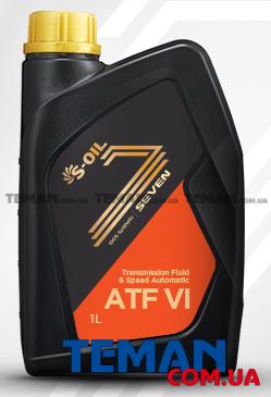 Купить Синтетическое трансмиссионное масло SEVEN ATF VI, 1 лS-OIL SEVENATFVI1