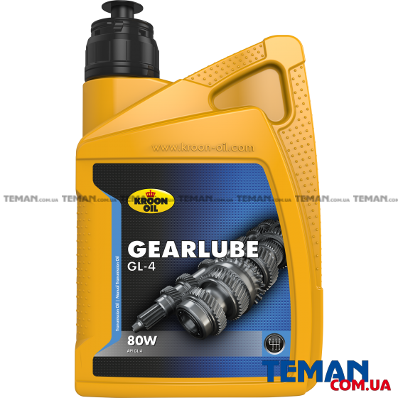 Минеральное смазочное масло GEARLUBE GL-4 80W