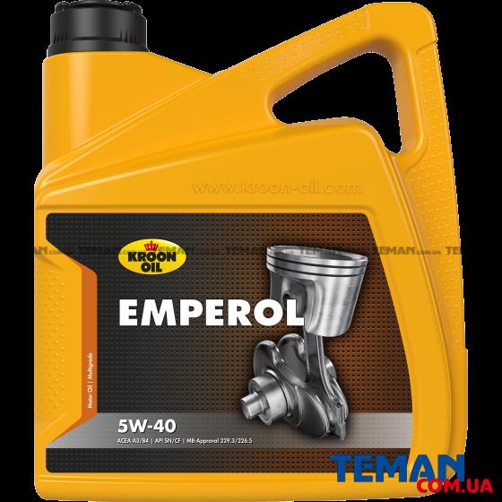 Синтетическое моторное масло EMPEROL 5W-40, 4л