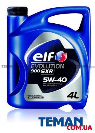 Масло моторное синтетическое EVOLUTION 900 SXR 5W40, 4 л