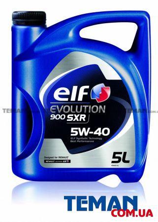 Масло моторное синтетическое EVOLUTION 900 SXR 5W40, 5 л