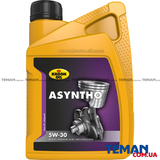 Масло моторное Asyntho 5W30 1л