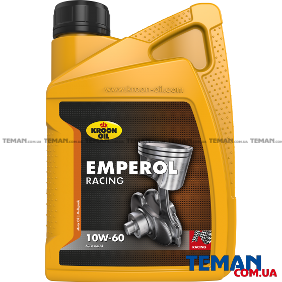моторное масло EMPEROL RACING 10W-60, 1Л