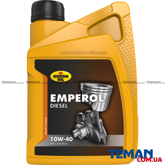 Дизельное моторное масло EMPEROL DIESEL 10W-40, 1л