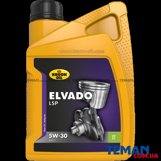 Моторное масло ELVADO LSP 5W-30, 1л