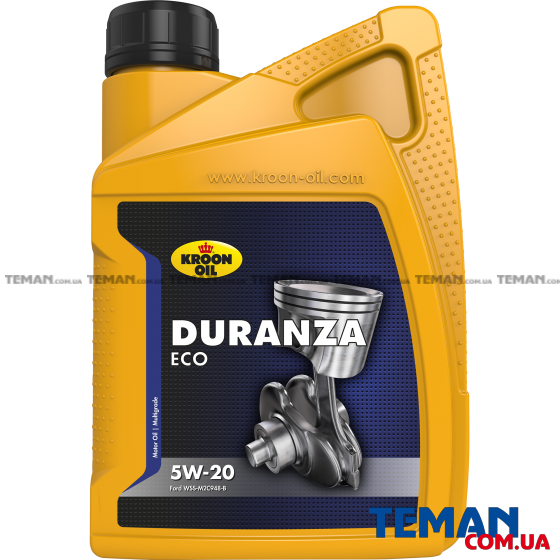 Моторное масло DURANZA ECO 5W-20, 1л