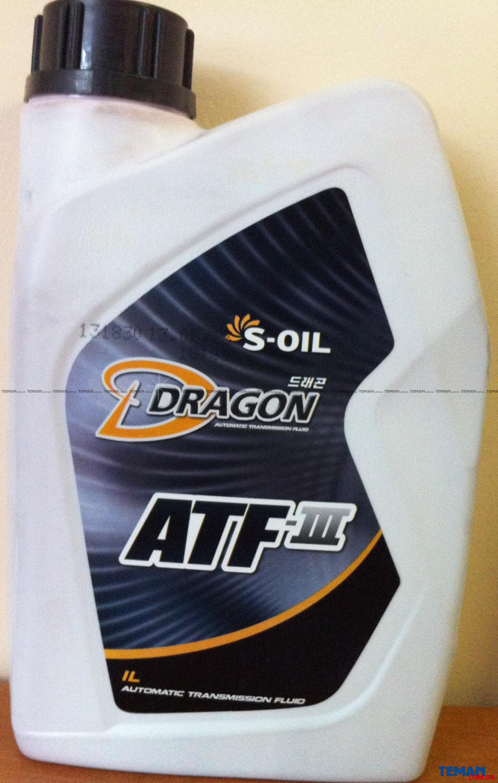 S-OIL - DRAGON ATFIII 1