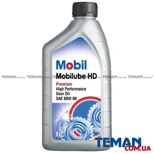 Масло трансмиссионное минеральное Mobilube HD 80W-90, 1л