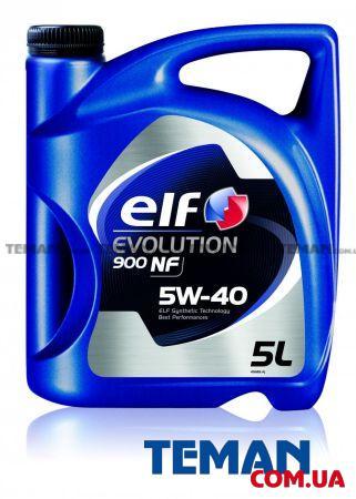 Купить Масло моторное синтетическое Evolution 900 NF 5W-40, 5 лELF 194872