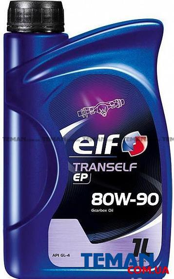 Масло трансмиссионное минеральное TRANSELF EP 80W-90, 1 л