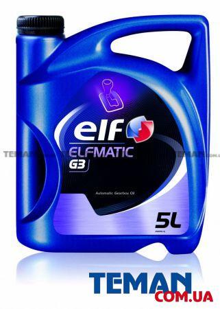 Масло трансмиссионное минеральное ELFMATIC G3, 5 л