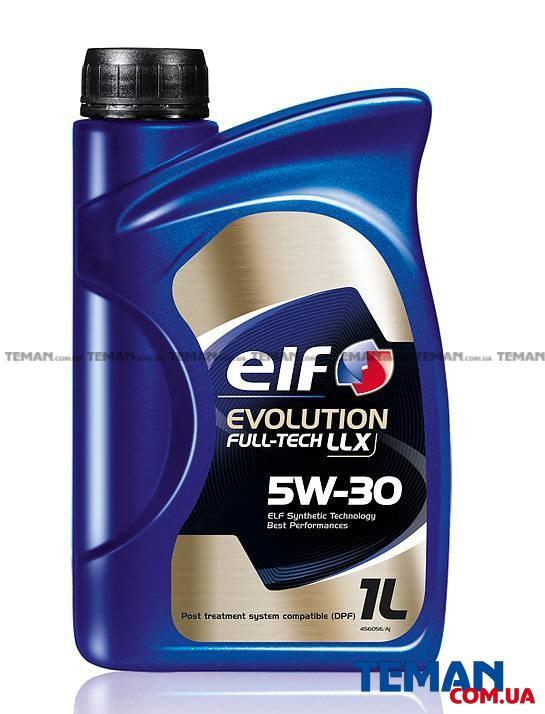 Масло моторное синтетическое Evolution Full-Tech LLX 5W-30, 1 л