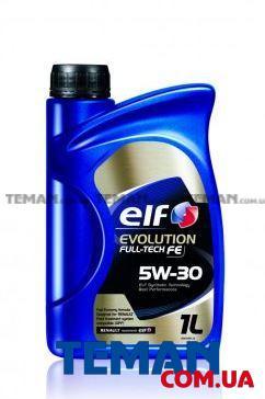 Масло моторное синтетическое Evolution Full-Tech FE 5W-30, 1 л
