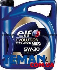 Масло моторное синтетическое Evolution Full-Tech MSX 5W-30, 5 л