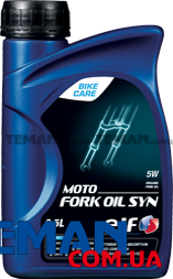 Масло для вилок и амортизаторов мотоциклов Moto Fork Oil SYN 5W, 0.5 л