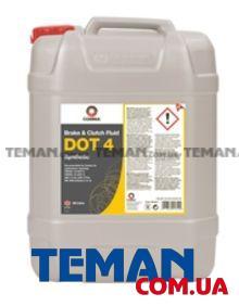 Синтетическая тормозная жидкость DOT 4