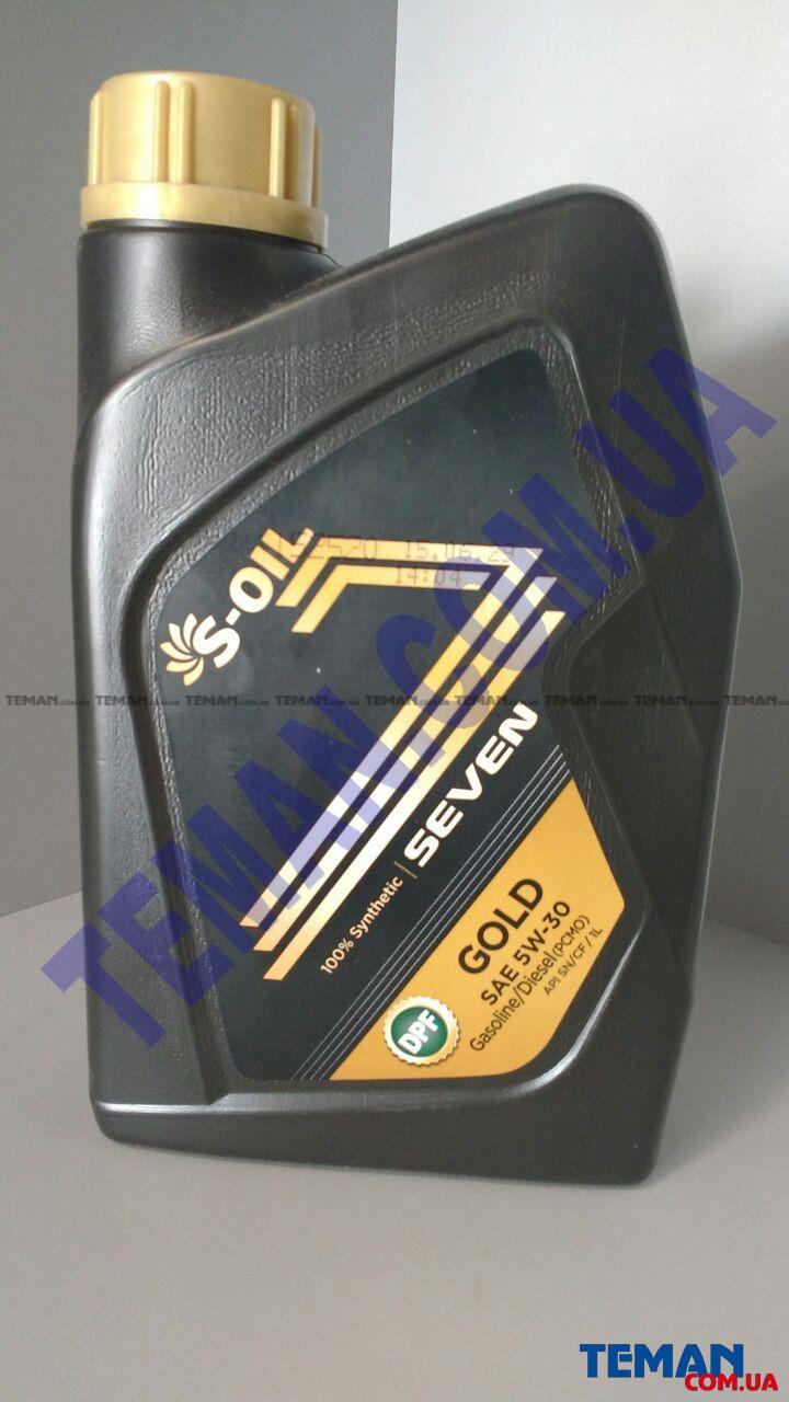 Синтетическое моторное масло SEVEN GOLD 5W30, 1 л