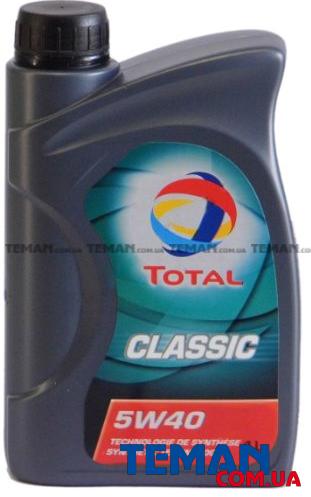 Полусинтетическое моторное масло Classic 5W-40, 1л