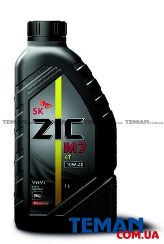 Масло моторное синтетическое M7 4T 10W-40, 1 л