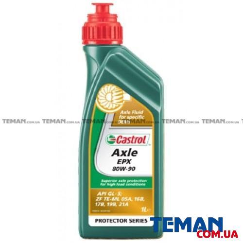 Полусинтетическое трансмиссионное масло AXLE EPX 80W-90, 1л