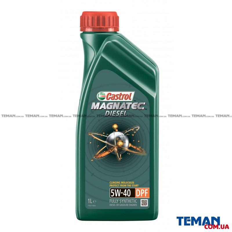Синтетическое моторное масло MAGNATEC DIESEL 5W-40 DPF, 1л