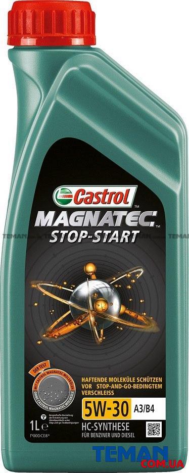 Синтетическое моторное масло MAGNATEC STOP-START 5W-30 A3/B4, 1л