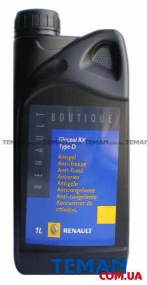 Антифриз концентрат 1 л (7711428132) Renault