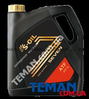 Купить Синтетическое трансмиссионное масло SEVEN ATF VI, 4 лS-OIL SEVENATFVI4