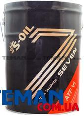 Синтетическое трансмиссионное масло SEVEN ATF VI, 20 л