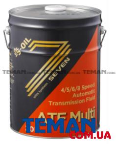 Синтетическое трансмиссионное масло SEVEN ATF MULTI, 20 л