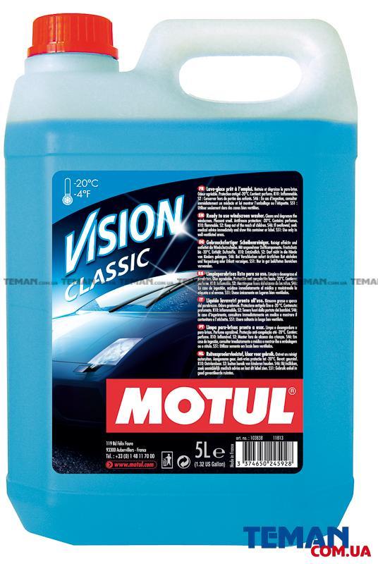 Зимний стеклоомыватель Motul Vision Classic, 5 л