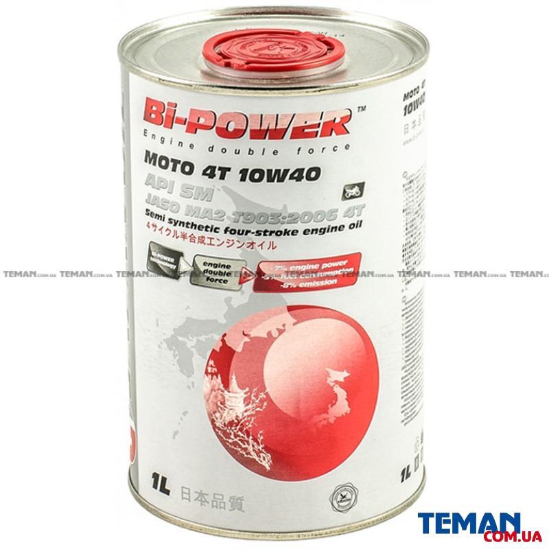 JO Bi-Power Moto 4T 1Lx12 10W-40