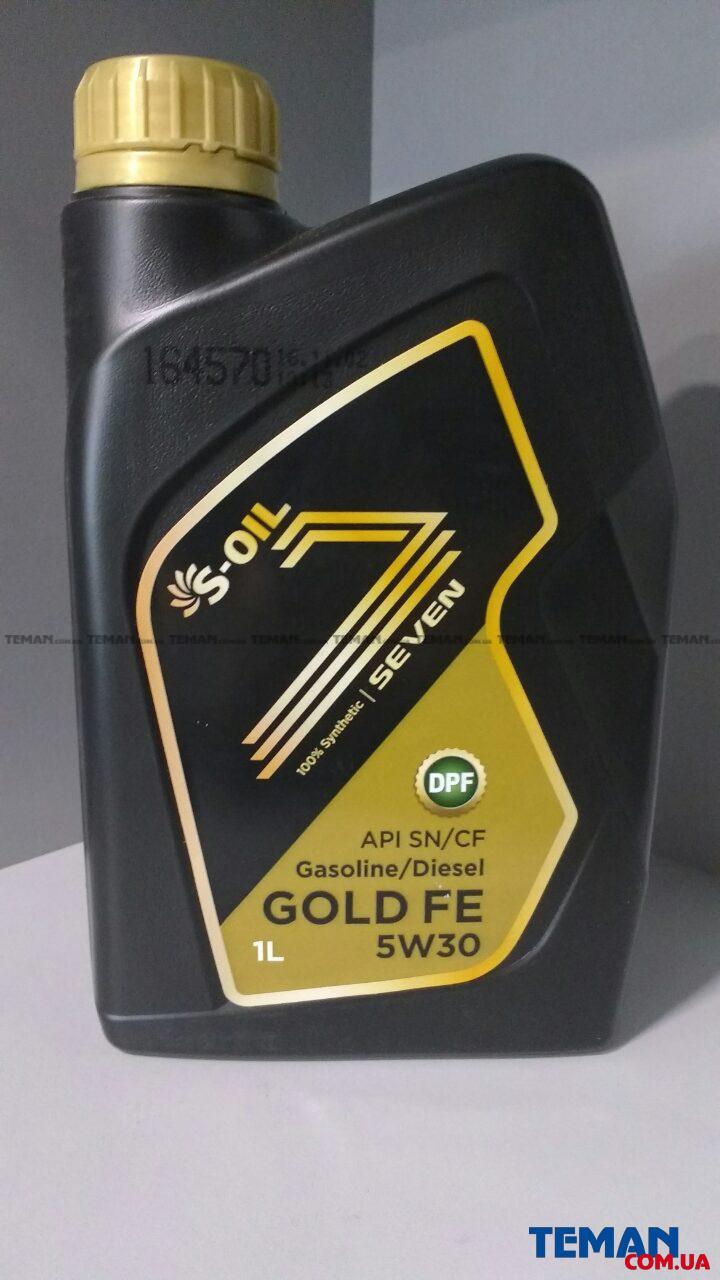 Энергосберегающее моторное масло SEVEN GOLD FE 5W-30, 1л