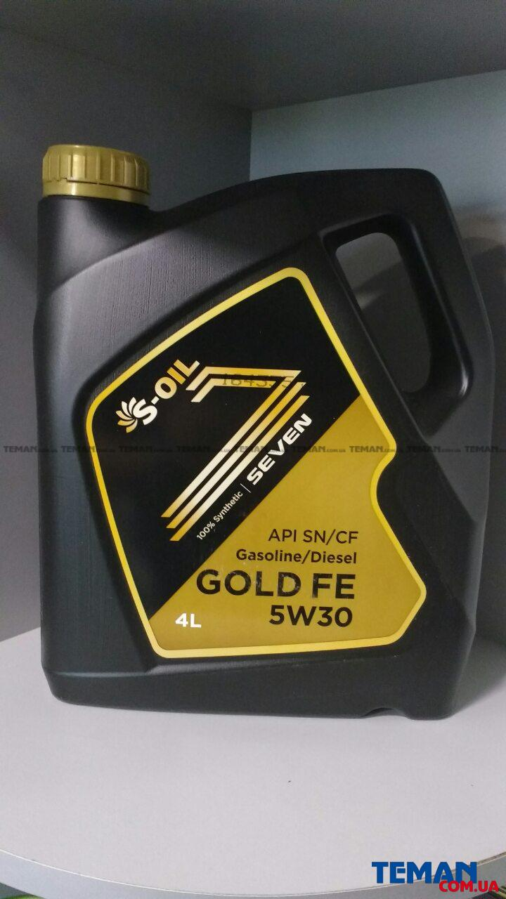 высококачественное моторное масло SEVEN GOLD FE 5W-30, 4л