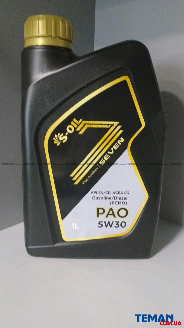 S-Oil Seven PAO 5W-30