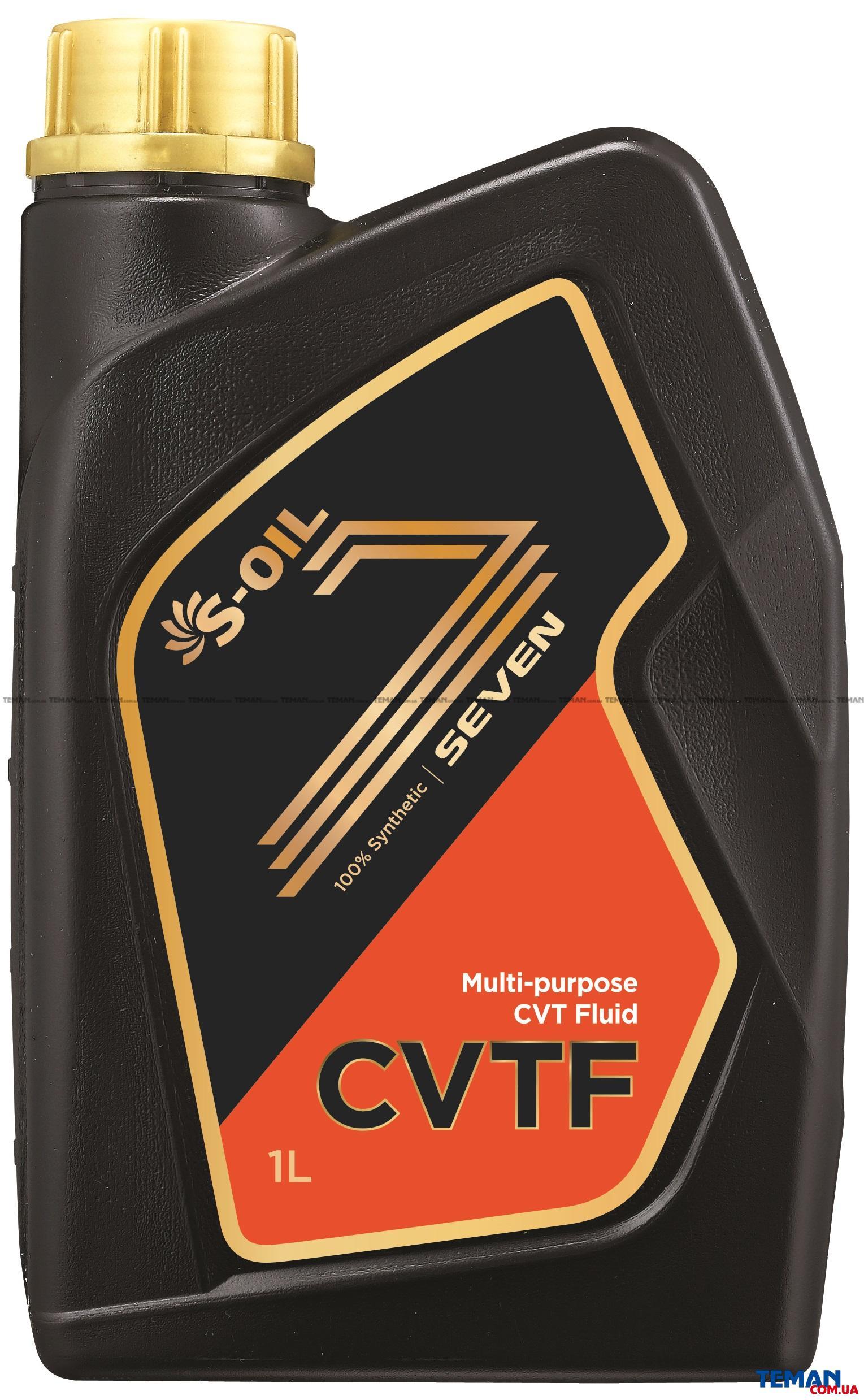 Синтетическое трансмиссионное масло SEVEN CVTF, 1 л