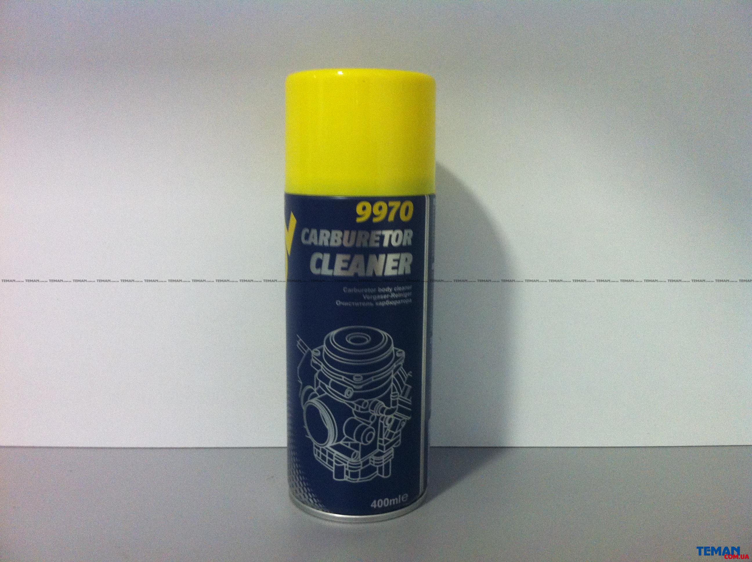 Очиститель карбюратора 400ml 9970 аерозоль