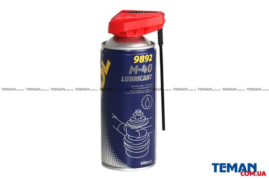 Универсальная антикоррозийная смазка Mannol 950418 M40 400 ml