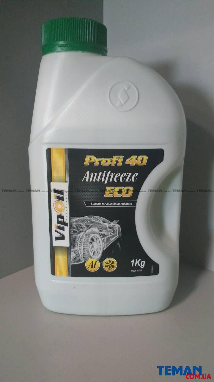Купить Антифриз VipOil ECO Profi 40 (зелений), 1кг х8VIP OIL 701406