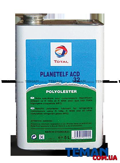 Синтетическое масло для поршневых компрессоров холодильных машин Total PLANETELF ACD 32, 5л