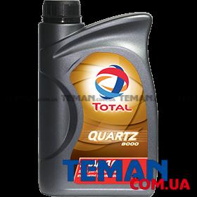 Синтетическое моторное масло QUARTZ 9000 5W40, 1л