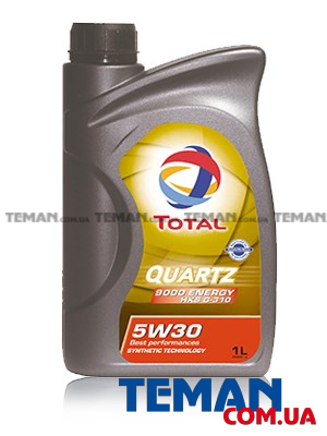 Моторное масло TOTAL QUARTZ 9000 ENERGY HKS G-310 5W-30, 1л