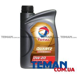 Синтетическое моторное масло Total Quartz 9000 V Drive 0W-20, 1л